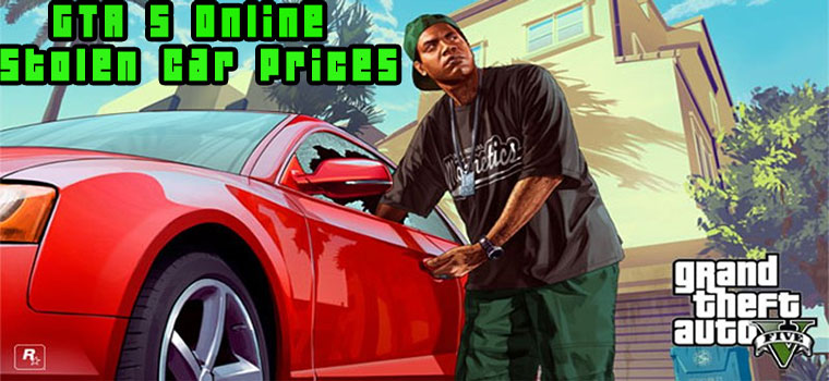 gta 5 online stolen car prices
