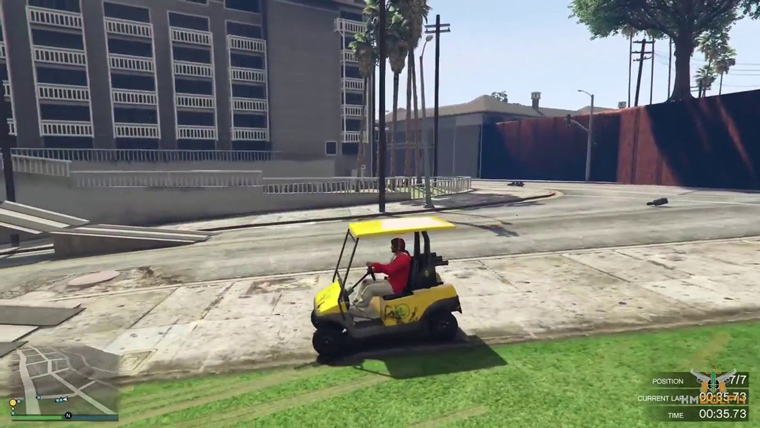 Spawn Caddy GTA Cheat