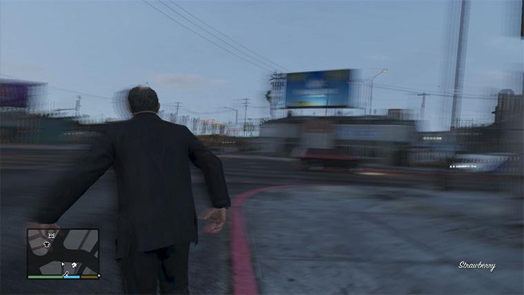 Drunk Mode GTA Cheat
