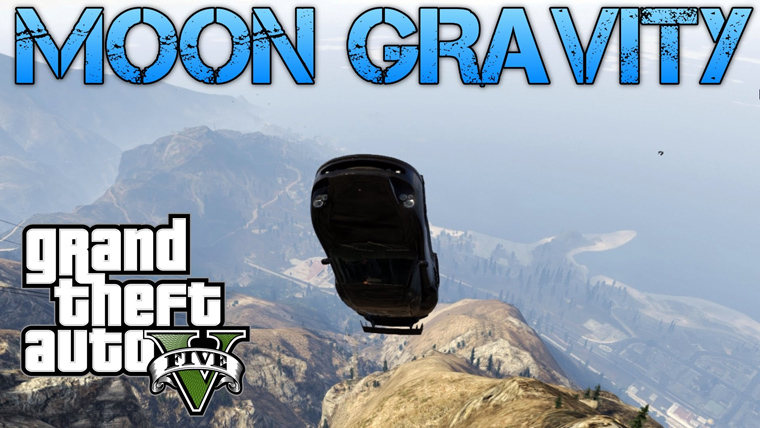 Moon Gravity GTA Cheat