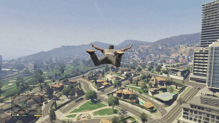SkyFall GTA Cheat