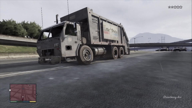 gta 5 garbage truck cheat