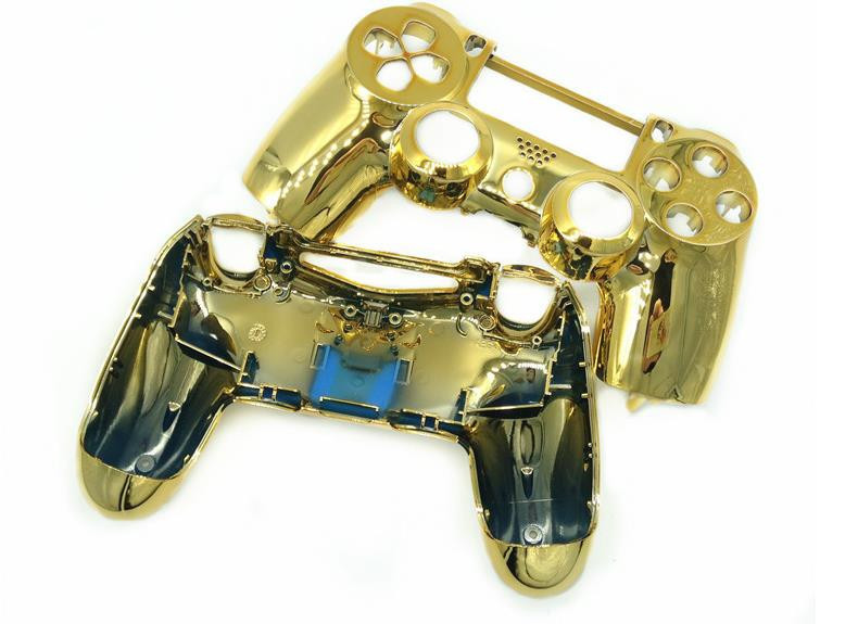 Xbox 360 Controller Gold Shell