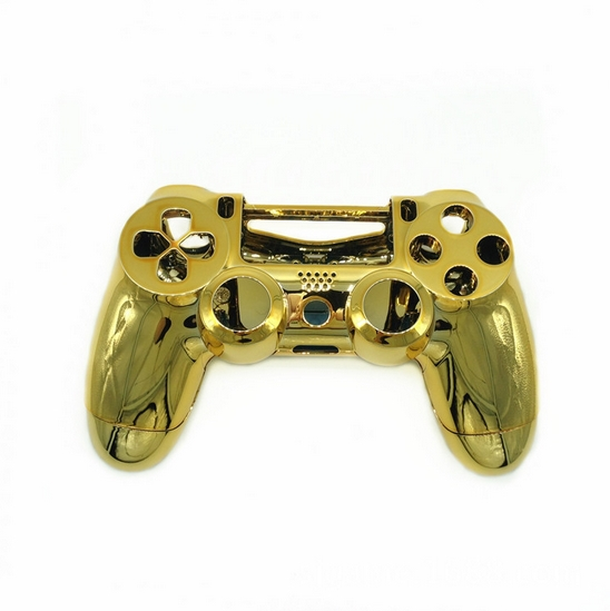 Chrome Gold PS4 Controller Shell